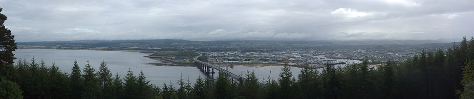 Inverness Moray Firth Panorama 01