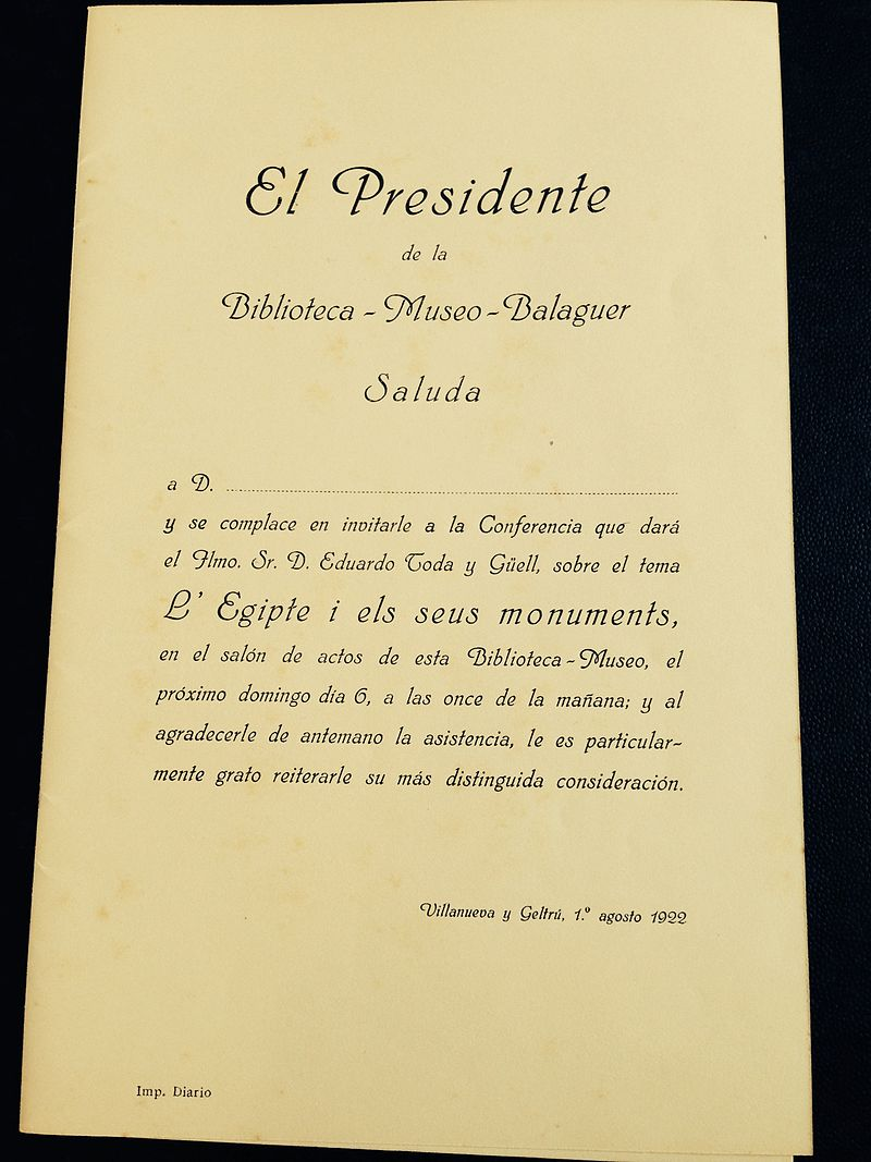 Eduard Toda i Güell 800px-Invitaci%C3%B3_per_a_una_confer%C3%A8ncia_donada_per_Eduard_Toda.