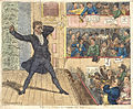 Isaac Cruikshank King John's first appearance at the New Theatre Covent Garden 1809.jpg