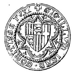 Isabella, Countess of Foix - Seal of Isabella