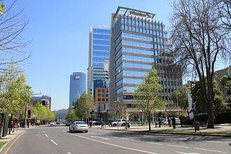 Las Condes - Avenida Isidora Goyenechea (Isidora Goyenechea Avenue).