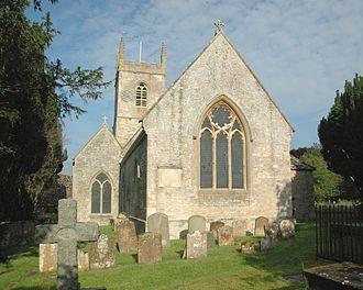 Islip, Oxfordshire - Image: Islip St Nicholas The Confessor E