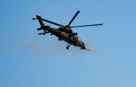 """Italian Army - 7th Army Aviation Regiment """"Vega"""" AH-129D Mangusta attack helicopter.png"""