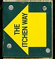Itchen Way Waymark.JPG