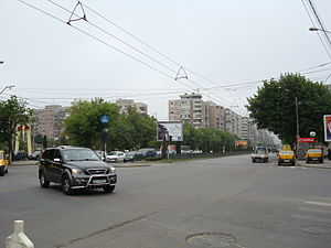 Sector 6 (Bucharest) - Iuliu Maniu Ave/Valea Cascadelor St (Militari quarter - May 2008)
