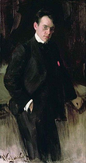 Vladimir Shchuko - Shchuko in 1912, by Ivan Kulikov