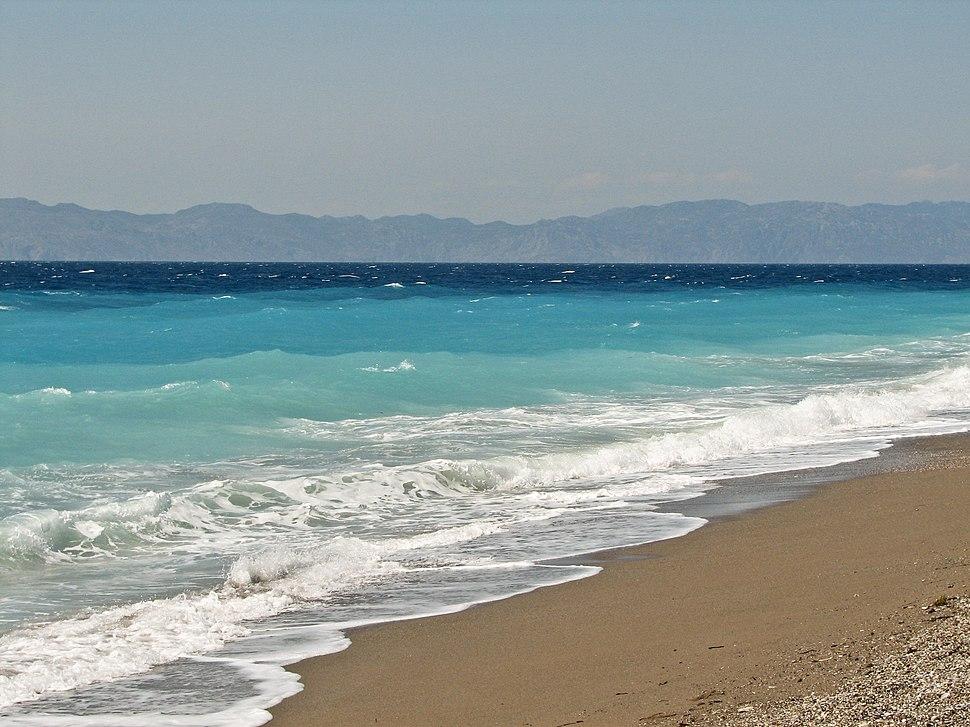 Ixia beach Rhodes Greece 2