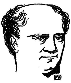 Józef Maria Hoene-Wroński - Portrait by Félix Vallotton