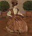 Józef Mehoffer - Portret żony (W laurowej sali) 1909.jpg