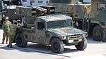 JGSDF Type 93 Surface-to-air missile(04-4187) right front view at Camp Shinodayama April 16, 2017 02.jpg