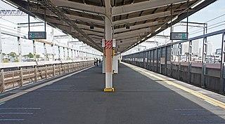 Yonohommachi Station Railway station in Saitama, Japan