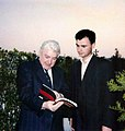 Jacques Claude Villard and Dejan Stojanovic, Paris, 1990.jpg