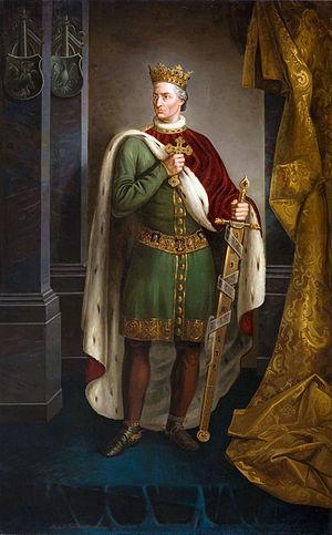 Władysław II Jagiełło - Modern depiction of Władysław II Jagiełło