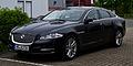 Jaguar XJ 3.0 Kompressor AWD Premium Luxury (X351) – Frontansicht, 17. Mai 2013, Münster.jpg