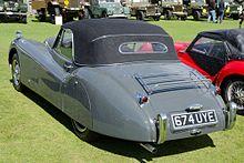 Jaguar XK120 DHC (1953) (15846459232).jpg