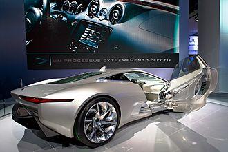 Jaguar C-X75 - Image: Jaguar c x 75 concept 2