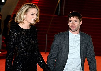 James Blunt - Blunt and his wife Sofia at the NRJ Music Awards 2014