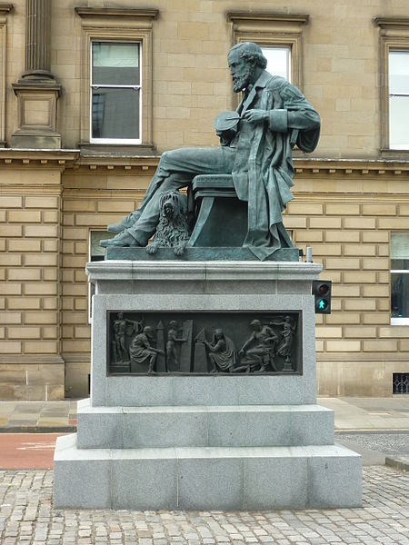 File:James Clerk Maxwell statue in George Street, Edinburgh.jpg