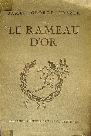 Couverture du livre de James Frazer, Le rameau...