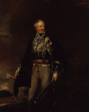 James Grant (British Army officer, born 1778) - Image: James Grant by William Salter