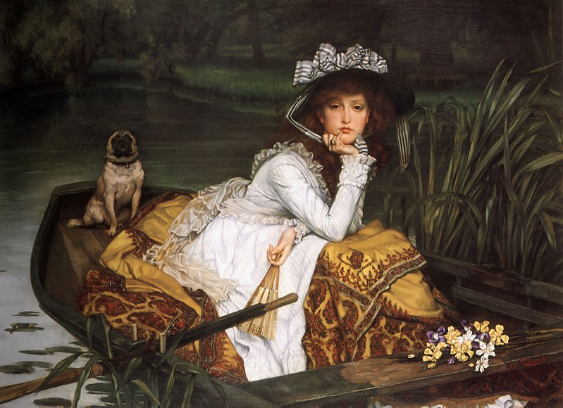 File:James Tissot - Young Lady in a Boat.jpg