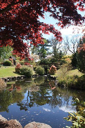 Lauriston Castle - Japanese Garden at Lauriston Castle, Edinburgh