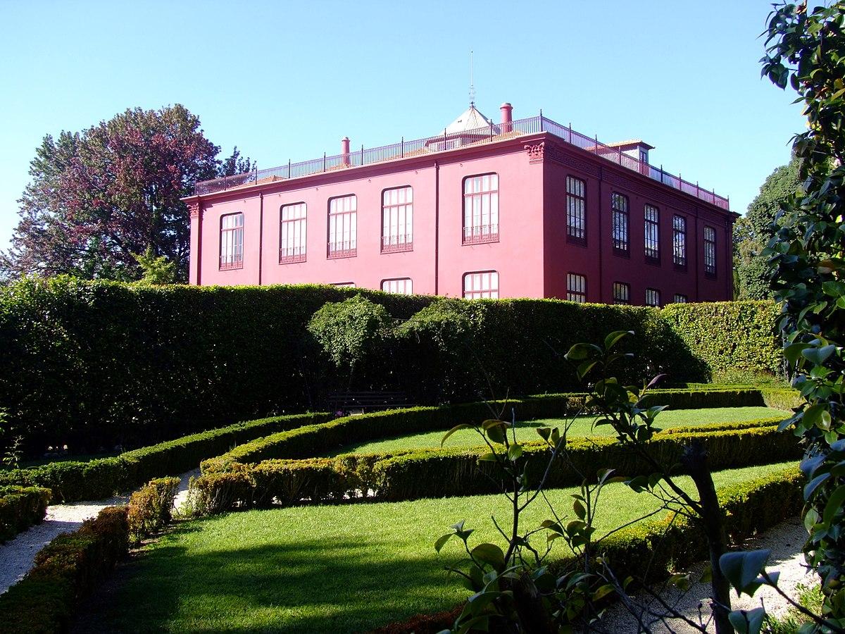 Jard n bot nico de la universidad de oporto wikipedia for Casa jardin botanico