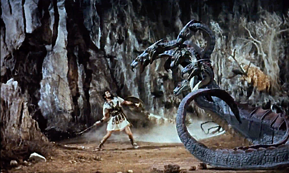 Jason and the Argonauts (1963) Hydra fight