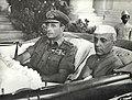 Jawaharlal Nehru with Lord Mountbatten in Singapore, 1946.jpg