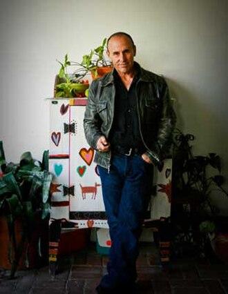 Jeffrey Bloom - Jeffrey Bloom in his studio