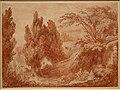 Jean-honoré fragonard, veduta di un parco con allegra compagnia, 1760-70 ca. (stadel) 01.jpg