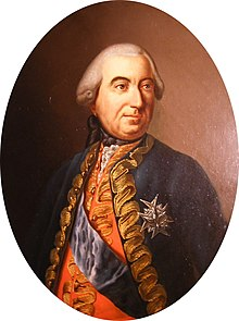 Jean Louis Roger de Rochechouart, Marquis of Rochechouart wearing the Order of the Holy Spirit by an unknown artist.jpg