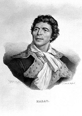 Jean Paul Marat. Lithograph by H. Grévedon, 1824, after J. Wellcome L0002578.jpg