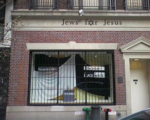 Jews for Jesus branch in New York City.