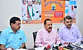 "Jitendra Singh addressing a press conference ahead of the ""International Day of Yoga-2016"", in New Delhi.jpg"