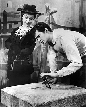 Look Homeward, Angel (play) - Jo Van Fleet and Anthony Perkins on Broadway, 1958