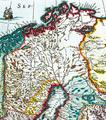 Joan Blaeu, Atlas Maior - Lappland, Nordkap, Hammerfest.png