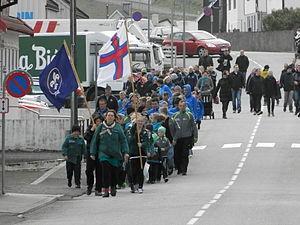 Joansoka 2012 procession in Vagur.JPG