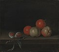 Johan Hörner - Apples and Peaches on a Table - KMS4613 - Statens Museum for Kunst.jpg