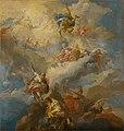Johann Michael Rottmayr – pravdepodobne, - Triumf lásky - O 1236 - Slovak National Gallery.jpg