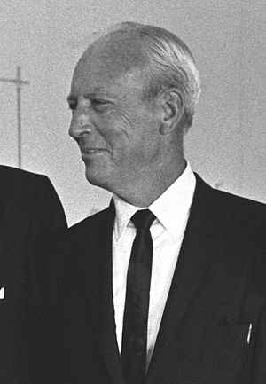 John A. Burns - Image: John A. Burns 1966