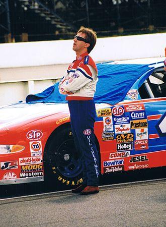 Pocono Raceway - John Andretti at Pocono Raceway, 1998