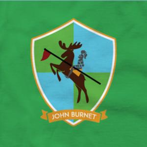 John Burnet Hall - The John Burnet Hall Coat of Arms
