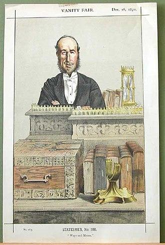 John George Dodson, 1st Baron Monk Bretton - Image: John George Dodson Vanity Fair 16 December 1871