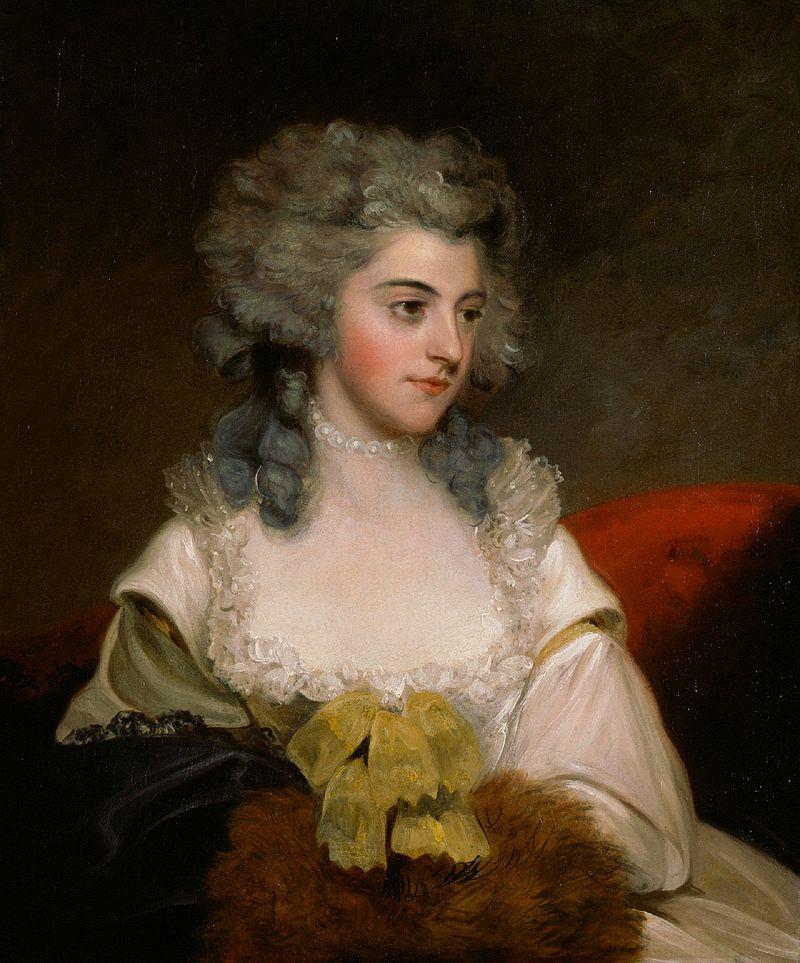 John Hoppner - Portrait of Susannah Edith, Lady Rowley (c.1785).jpg