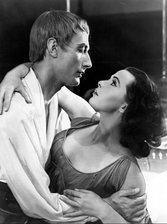 John Neville (actor) - Neville and Claire Bloom in Romeo and Juliet (1957)