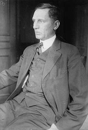 Obscenity trial of Ulysses in The Little Review - John Sumner, instigator of, and witness for, the prosecution (1915 photo)