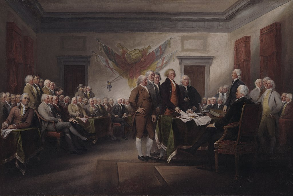 John Trumbull - The Declaration of Independence, July 4, 1776