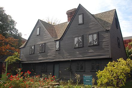 John Ward House Salem Massachusetts Is A First Period Medieval In