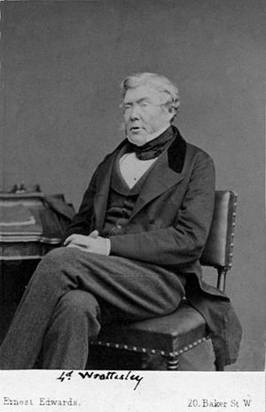 John Wrottesley, 2nd Baron Wrottesley - Image: John Wrottesley ca 1866